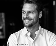 Jonathan Zandbergen Head-Chef restaurant Merlet * has been guest editor on my facebook page Culinary Inspiration